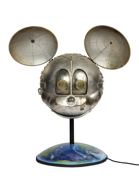 Lot 206 Disney Channel Satellite Mickey Mouse prop