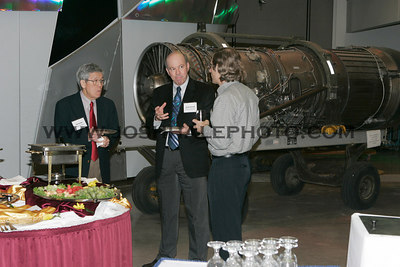 Ted Okiishi (left), Mark Bryden (center) and _____ before the honors dinner.