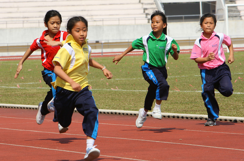 Varee School Chiang Mai Sports Day 2009 at the 700 Year Stadium