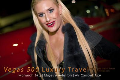 Vegas 500 boutique luxury air travel Las Vegas shared ownership program photo.