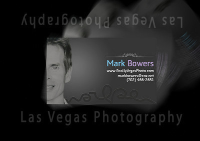 Las Vegas photographer Mark Bowers image and contact information