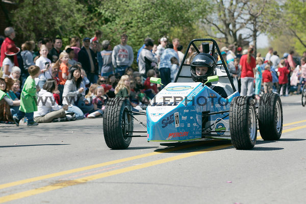 The ISU SAE racer during the 2006 Veishea Parade on Saturday, April 22, 2006.