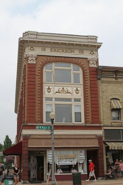 Erickson building circa 1905.