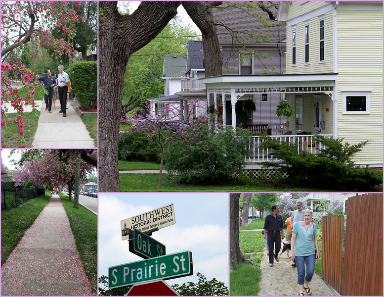 First we walk through the Historic Southwest District.