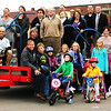 Debbie Blank | The Herald-Tribune<br /> A group photo to celebrate Vélo in the Ville: Get Psyched About Bikes and a new downtown bike rack was taken Thursday, Oct. 9. The Oct. 8-11 wellness initiative was sponsored by the city of Batesville, Batesville Main Street, St. Andrews Health Campus and Margaret Mary Health.