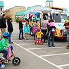 Debbie Blank | The Herald-Tribune<br /> After the group photo was a good time to buy treats from the Biker Dude Ice Cream truck.