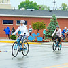 Debbie Blank | The Herald-Tribune<br /> Four females head north on Main Street at the start of the rides.