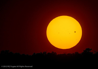 _RQF7981  Transit of Venus at sunset