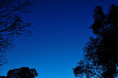 Venus and Jupiter from my backyard