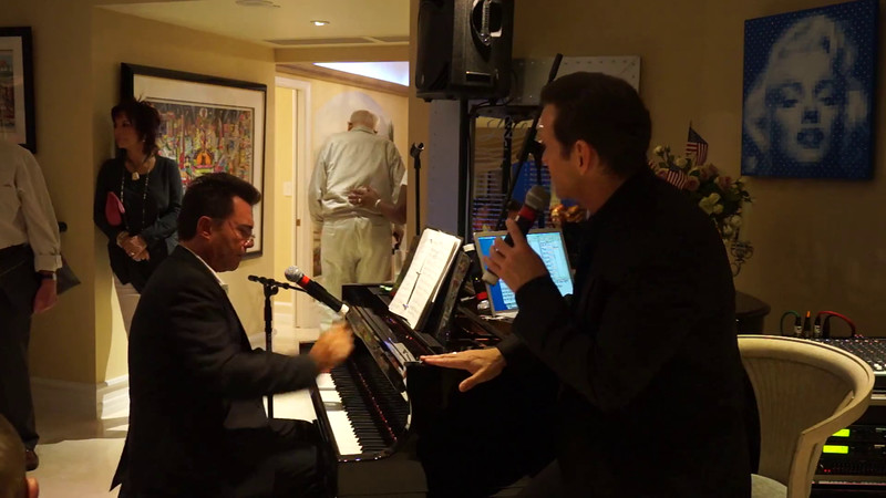 Videos-Sean McDermott Sings That's The Glory of Love with Richard Berman on Piano