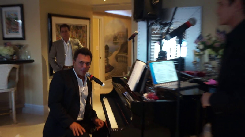 Videos-Sean McDermott Sings Some Enchanted Evening with Richard Berman on Piano