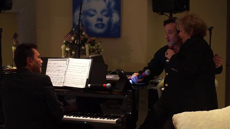 Videos-Vera's Friend Sings Crazy with Sean McDermott & Richard Berman on Piano