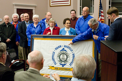 April 2008 - Vernon Bicentennial Flag Presentation
