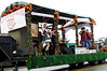 The Maple Grove Club celebrates Vernon's Bicentennial with an Oktoberfest-themed float.