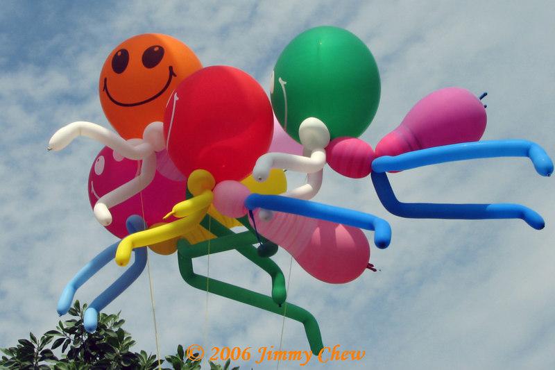 Balloons—Smiley