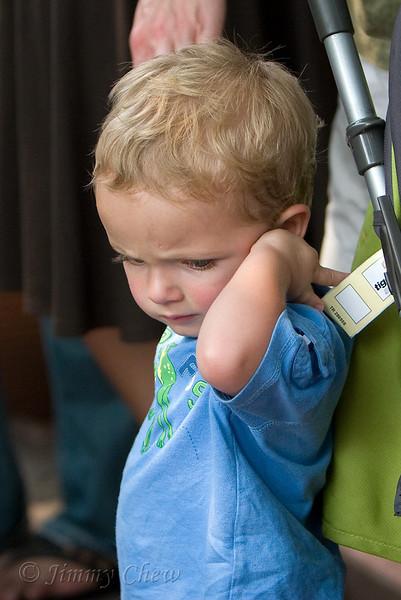 A restless kid.