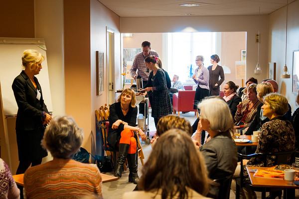 Vetenskapscafé på Riksdagen April 2012