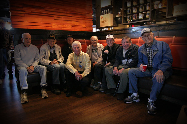 Veterans Coffee, Outback Steakhouse, Greensboro, NC 14 January 2016