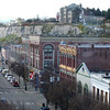 View from the Hastings Building, downtown Port Townsend.