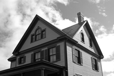 Officers row house, Fort Worden.
