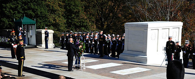 Wreath Laying Ceremony, Arlington National Cemetery