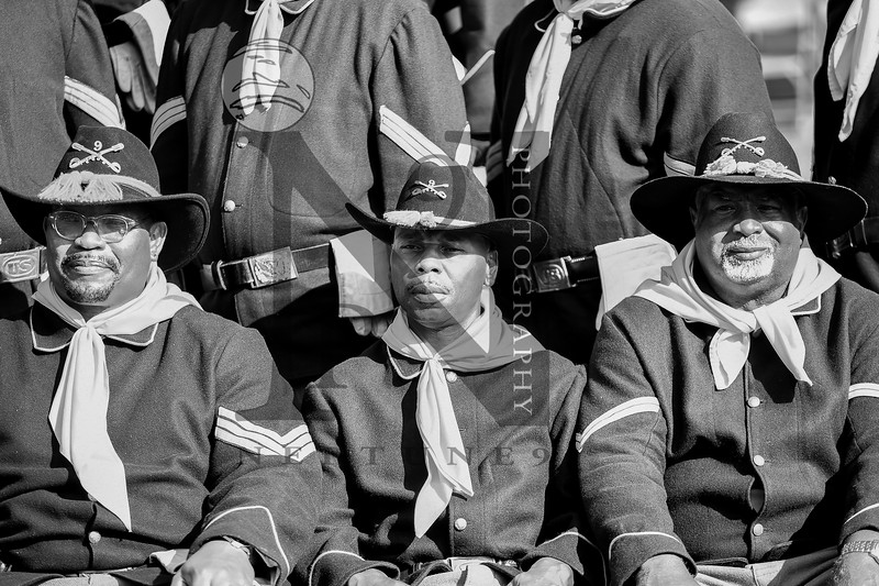 """Bexar County Buffalo Soldiers hosted their annual Veterans Day Ceremony on 11 Nov 2016 at the San Antonio National Cemetary. Guest speaker Rear Admiral McCormick-Boyle. Gallery: <a href=""""http://smu.gs/2fwIv9E"""">http://smu.gs/2fwIv9E</a>"""