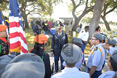 Bexar County Buffalo Soldiers hosted their annual Veterans Day Ceremony on 11 Nov 2016 at the San Antonio National Cemetary. Guest speaker Rear Admiral McCormick-Boyle. Gallery: http://smu.gs/2fwIv9E