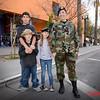 Airmen Conen with family