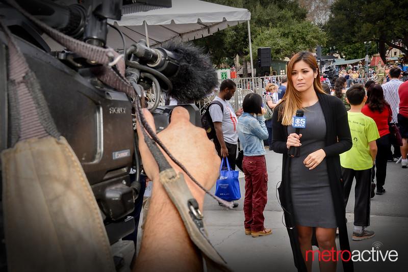 KPIX reporter Maria Medina