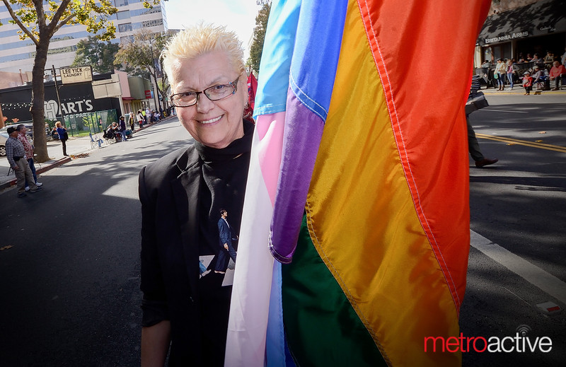 Gabrielle Sydney of the Billy DeFrank LGBTQ Center