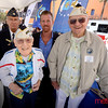 Pearl Harbor survivors Mr. Upton (L) and Mr. Shuler (R)