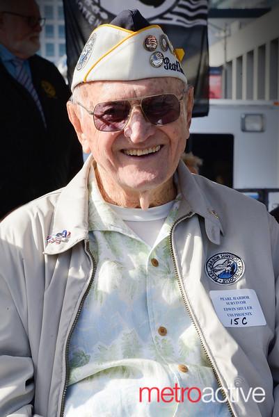 Pearl Harbor survivor Edwin Shuler