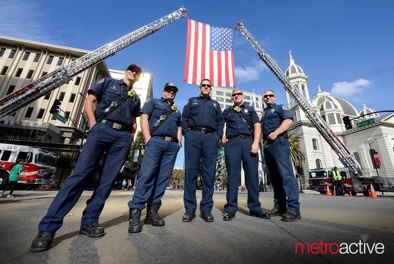 Proud men of Ladder 13 & Ladder 1