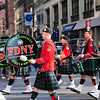FDNY Irish kilts strutting on 6th avenue