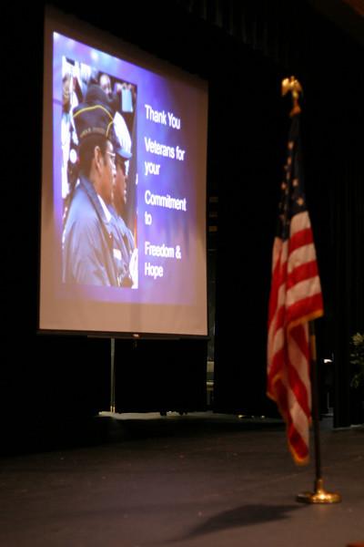 Veteran's Program 2007