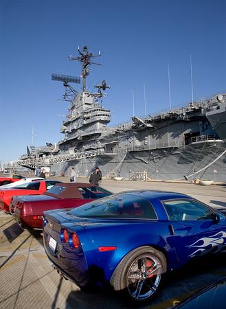 Vettes & Jets - USS Hornet
