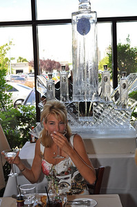 Download for Free high quality photograph of Las Vegas restaurant Via Brasil Steakhouse Private Party Rene & Friends enjoying ISVodka.