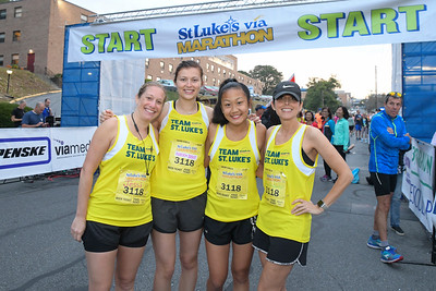 More than 3,000 runners compete in the St. Luke's Via Marathon Sunday, September 8th, 2019. The full marathon and relay started in Allentown while the half marathon started on Main Street in Bethlehem before finishing in Scott Park in Easton.