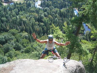 Don't Shoot! Via ferrata du Diable, park national du Mont-Tremblant