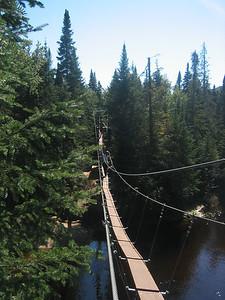 First Suspended Bridge