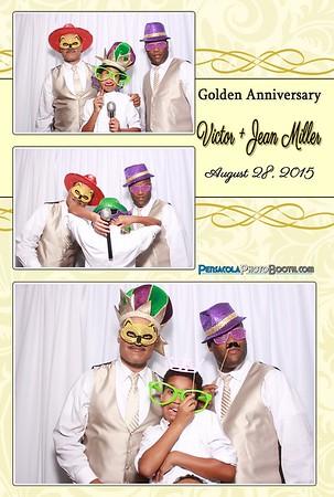 Victor + Jean's 50th Anniversary 8-28-2015