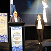 2018 Victorian Young Operator of the Year Tabatha James from Melbourne Water with Peter Quinn - IWA rep