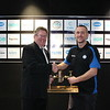 Victorian Network Operator of the Year Tim Kiddle Barwon Water with Mike Rankin from Water Training Australia