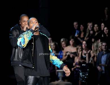 Jay Z, Kanye West     photo by Rob Rich/SocietyAllure.com © 2011 robwayne1@aol.com 516-676-3939