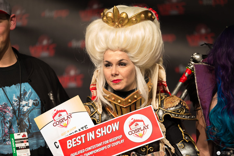 Vienna ComicCon Cosplay Contest 2016 - Inquisitor Ordo Hereticus from Warhammer 40,000 / Armor, Cosplay: Okkido Cosplay