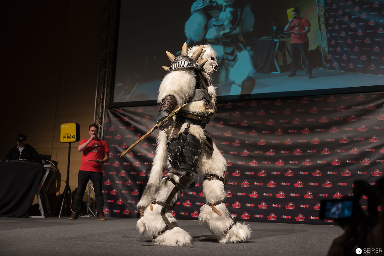 Vienna ComicCon Cosplay Contest 1016: Rengar from League of Legends / Larger Than Life, Cosplay: Monsoon Cosplay