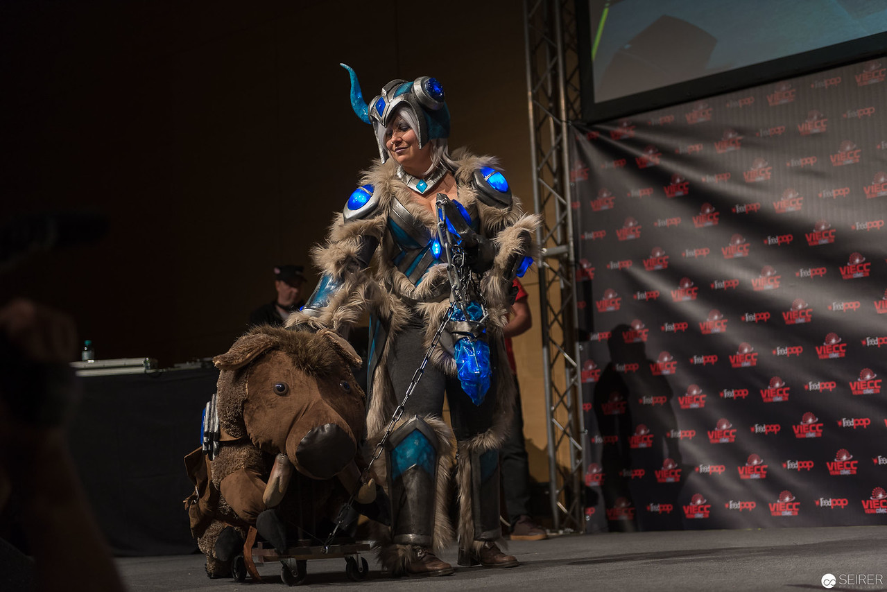 Vienna ComicCon Cosplay Contest 2016 - Sejuani from League of Legends / Armor , Cosplay: Monsoon Cosplay