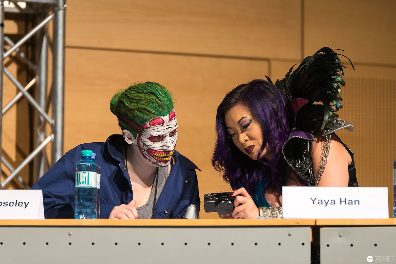Vienna ComicCon Cosplay Contest - Yaya Han, Lianne Moseley