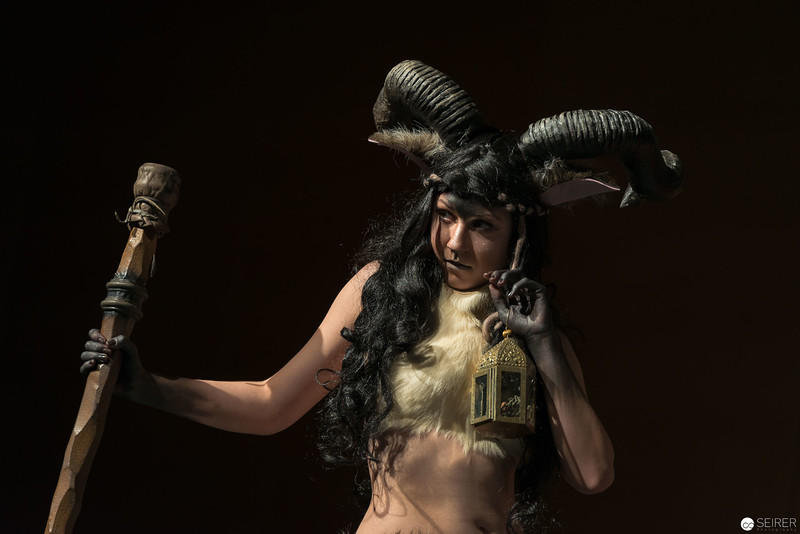 Vienna ComicCon Cosplay Contest 2016 - Satyr/ Pan griech. Mythologie / Armor, Cosplay: Lee Lee