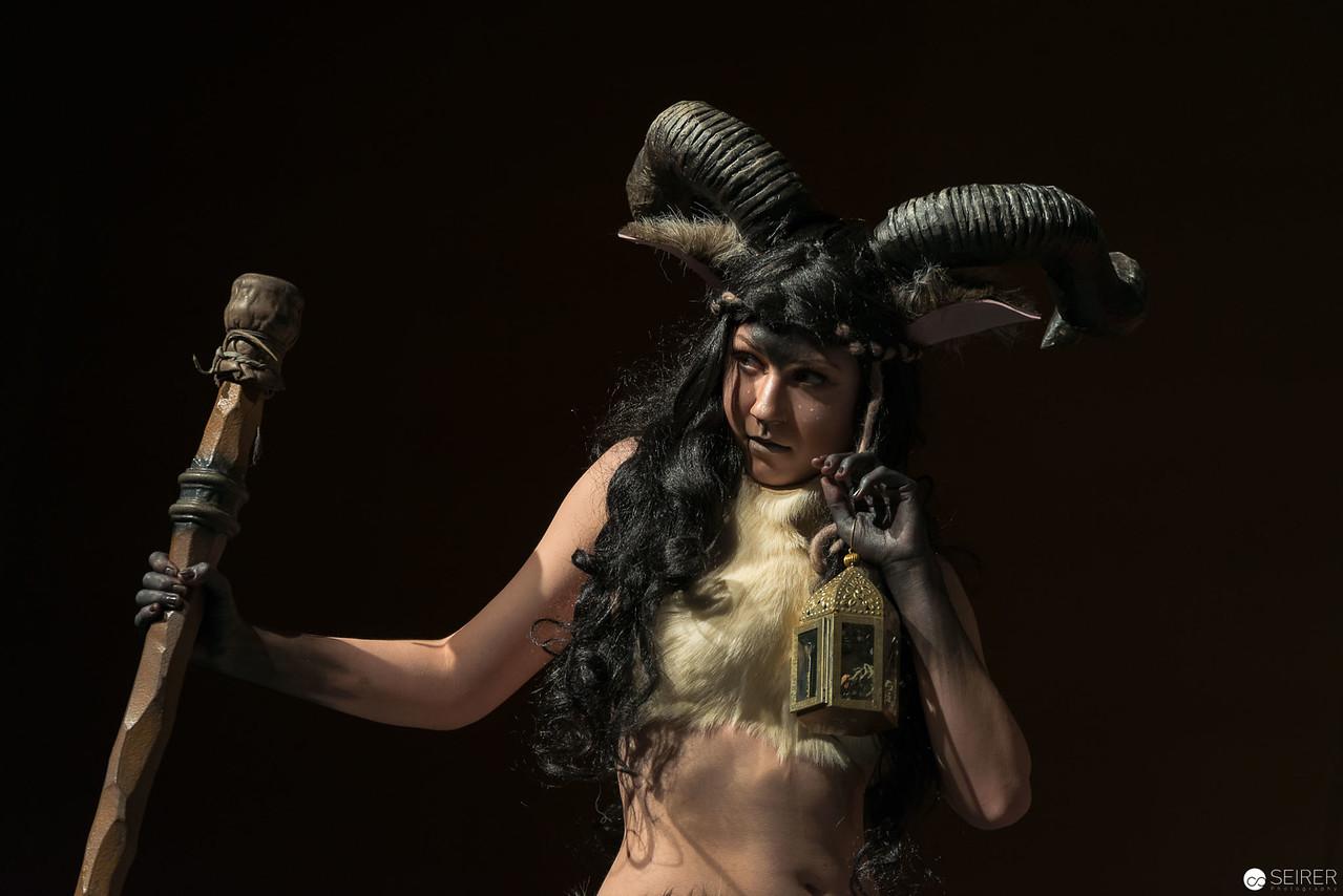 Vienna ComicCon Cosplay Contest 2016 - Satyr/ Pan griech. Mythologie / Armor, Cosplay: Lee Lee